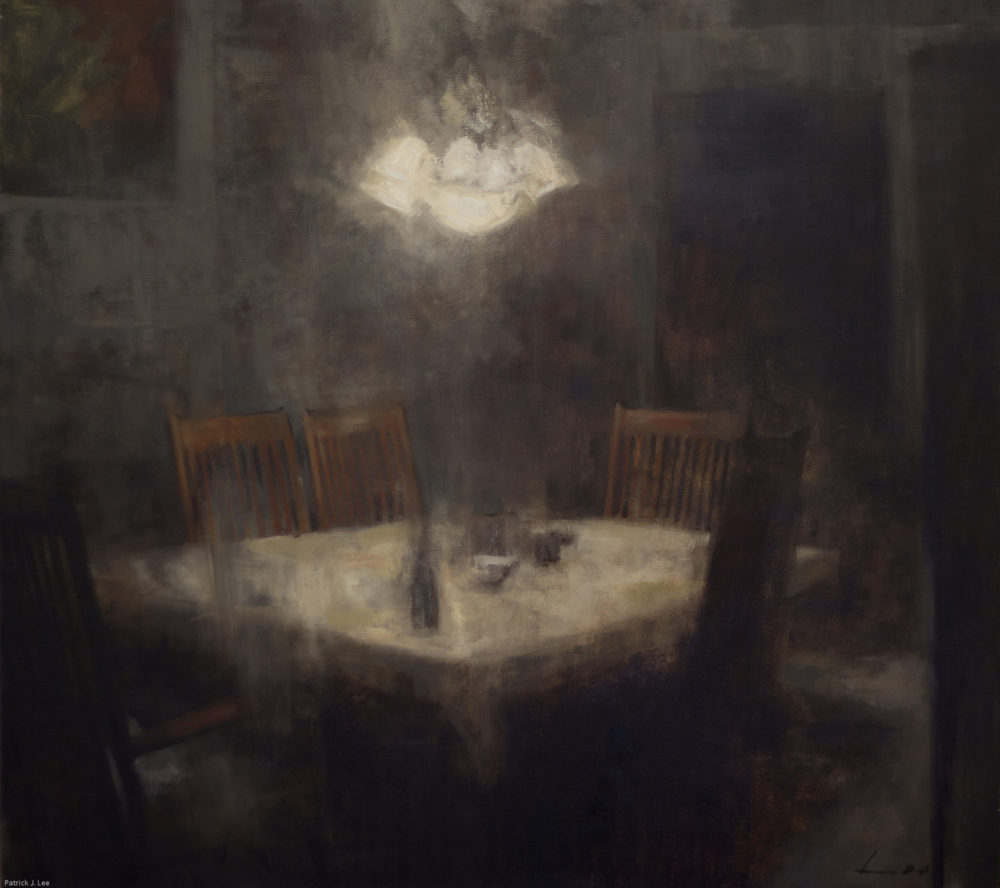 Patrick Lee Dream Interior 36x40 oil