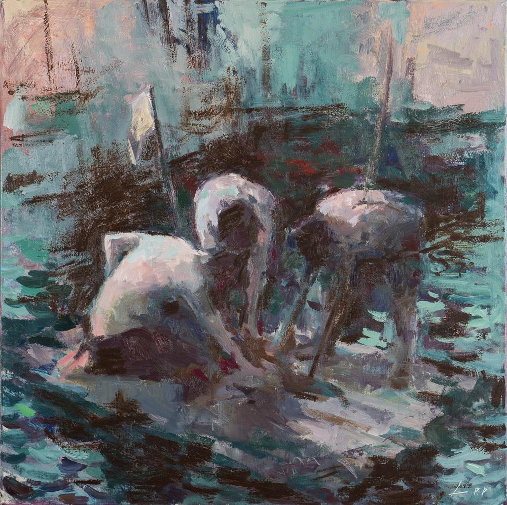 Patrick Lee Men on a Raft
