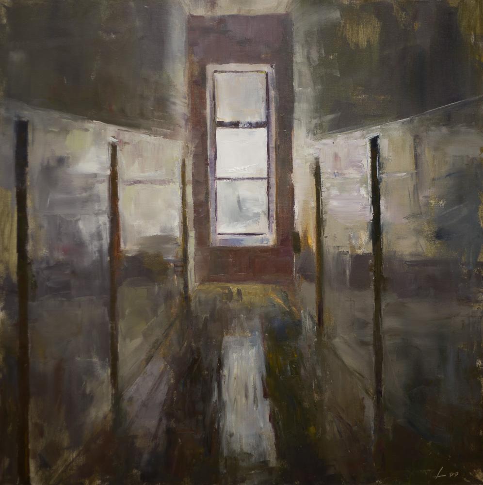 Patrick Lee Studio Hallway