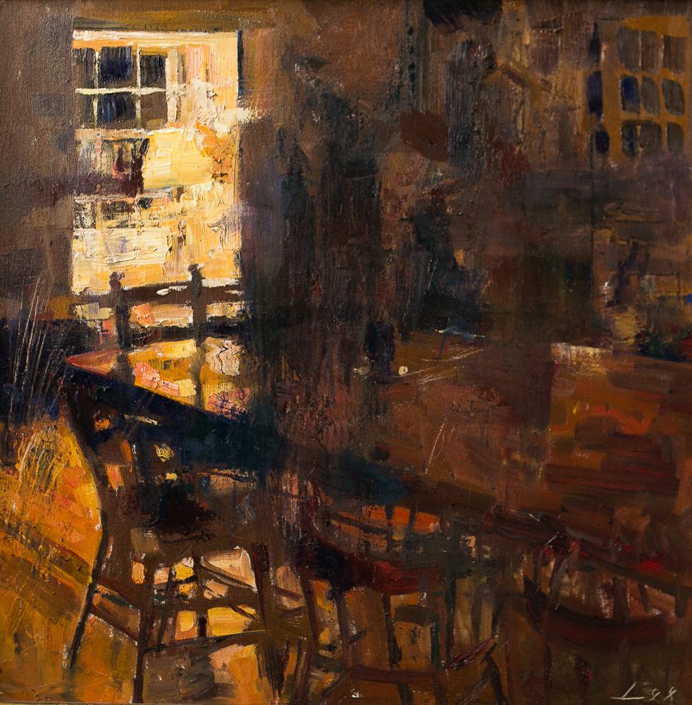 Patrick Lee Winterspring Interior Evening