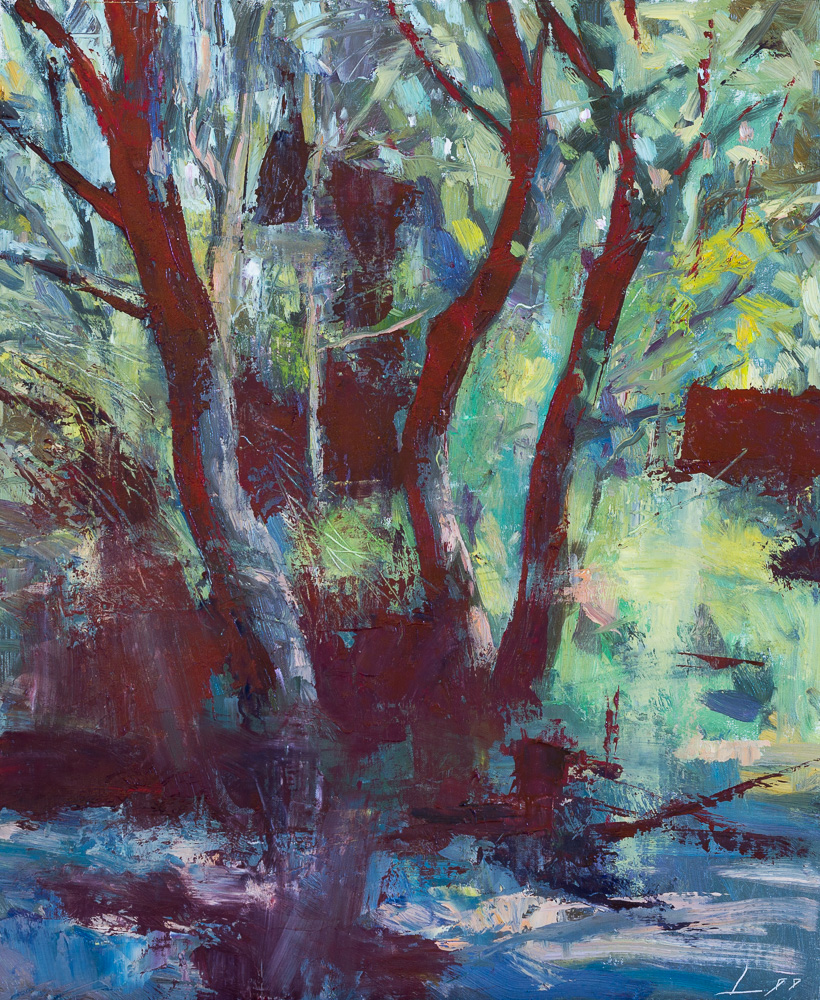 Patrick Lee contemporary oil painting 40