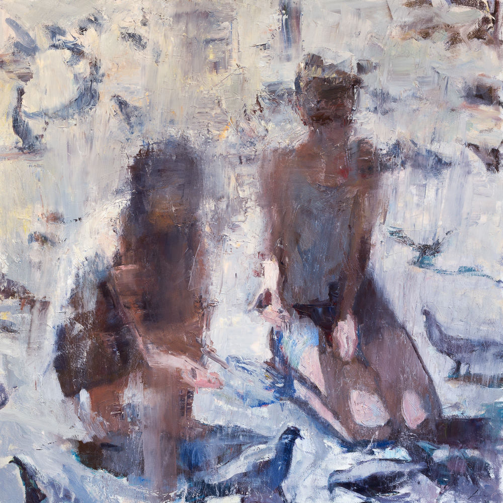 Patrick Lee contemporary oil painting 62