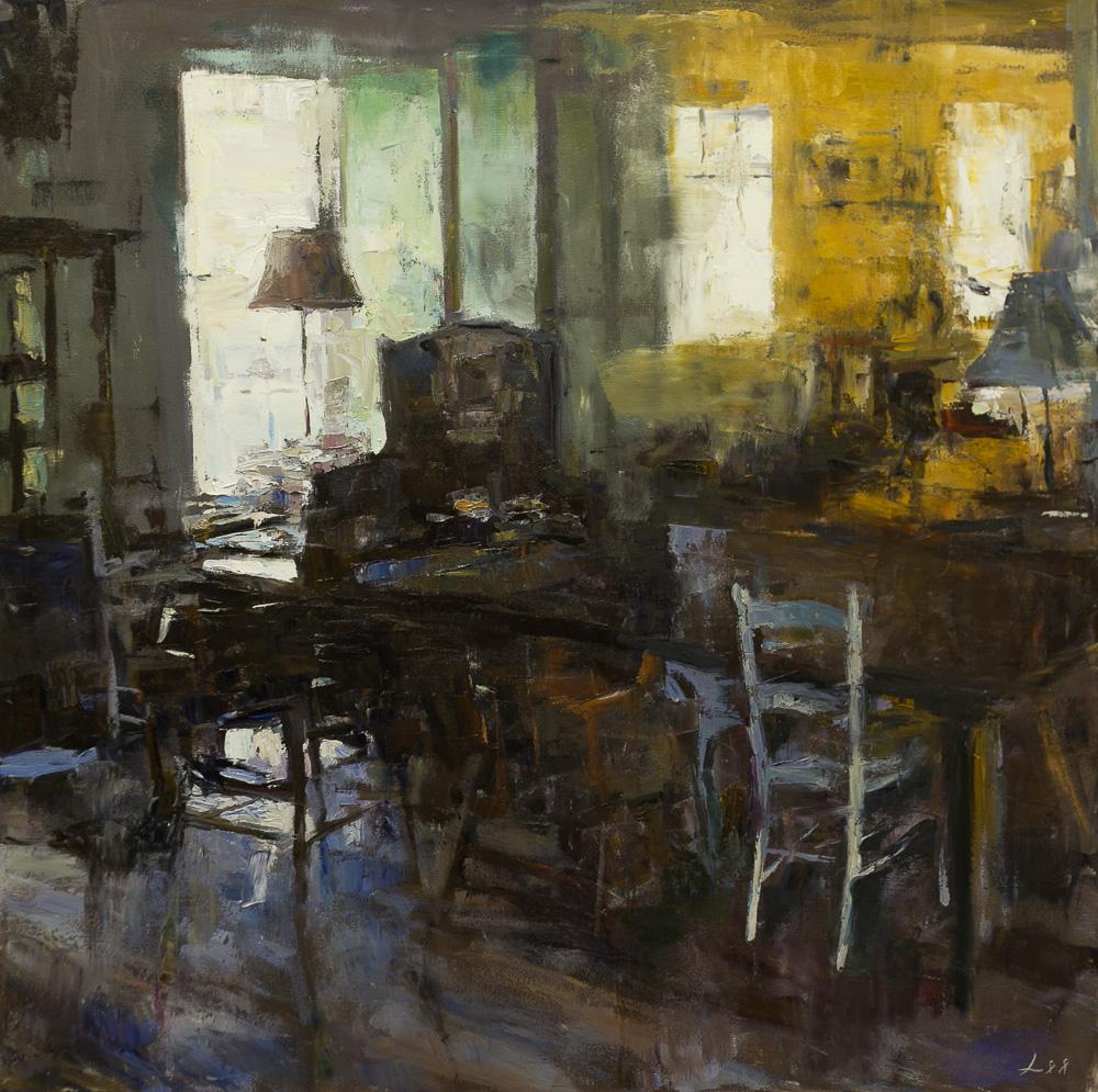 Patrick Lee oil painting 1