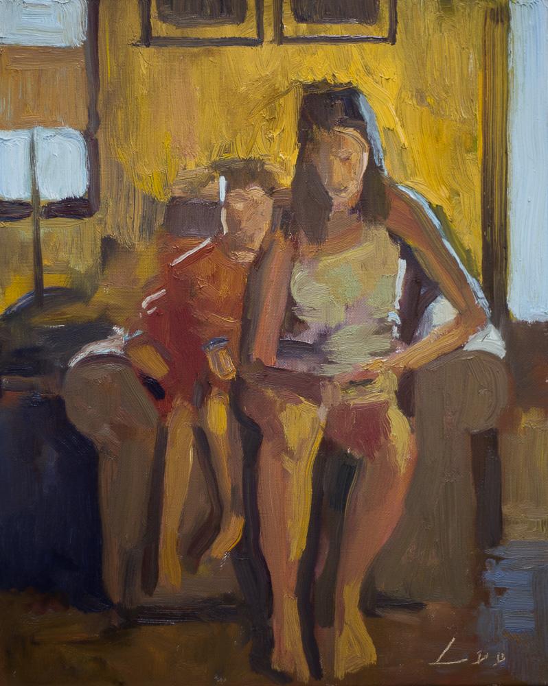 Patrick Lee oil painting 3