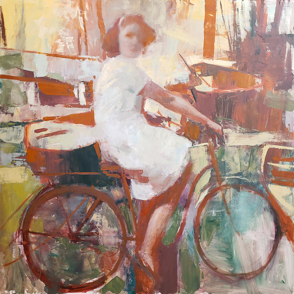 Patrick Lee Contemporary Oil Painting